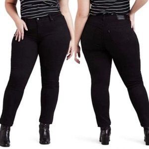 Levi's | 311 Shaping Skinny Black Stretch Jeans 16